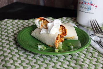 Leftover Chili Breakfast Burritos Recipe