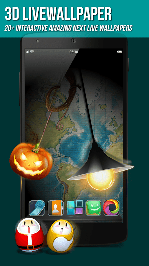 Next Launcher 3D Shell - screenshot