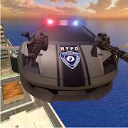 Flying Police Robot Cop Car : City Wars