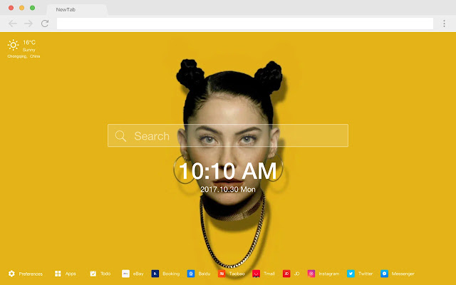 Bishop Briggs Pop Singer HD New Tabs Themes