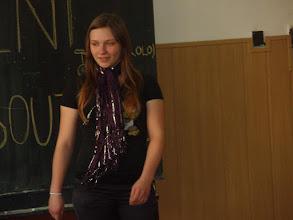 Photo: Školní kolo recitační soutěže - Tereza z 3. A.