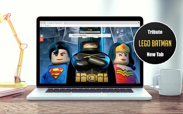 *NEW* Lego Batman HD Wallpapers New Tab Theme