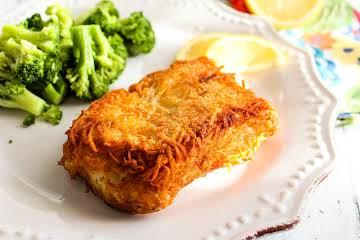 Potato Encrusted Fish
