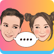 MojiPop - GIF Sticker Camera & Keyboard