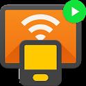 Cast to TV - Chromecast, Roku, stream phone to TV icon