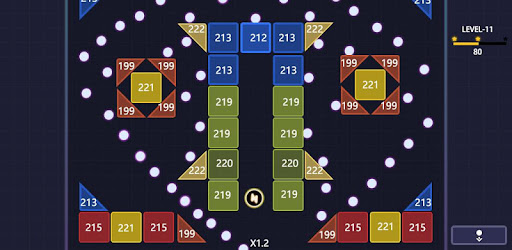 Bricks Breaker  Glow BallsBlast Mod Apk 5.4