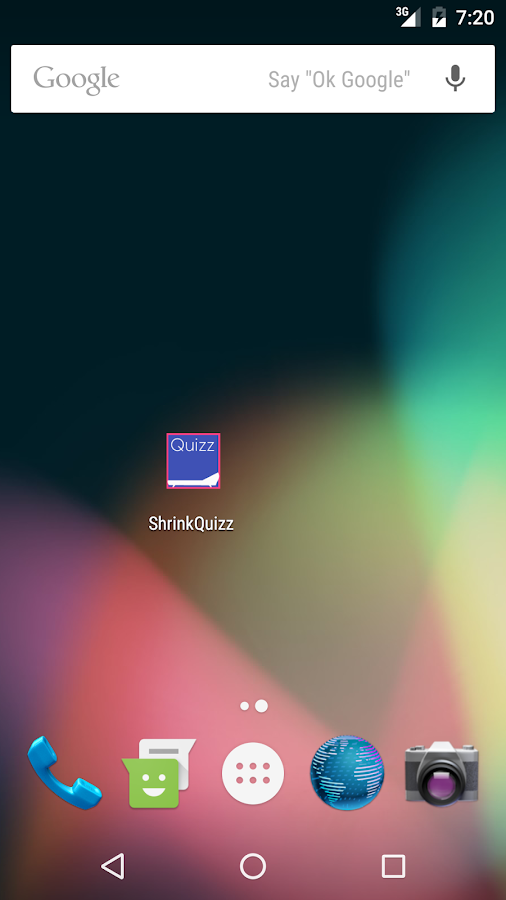 ShrinkQuizz- screenshot
