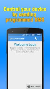 SMS Commander v1.0
