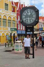 Photo: Reloj en el centro de Willemstad - Lucas LU1FAM