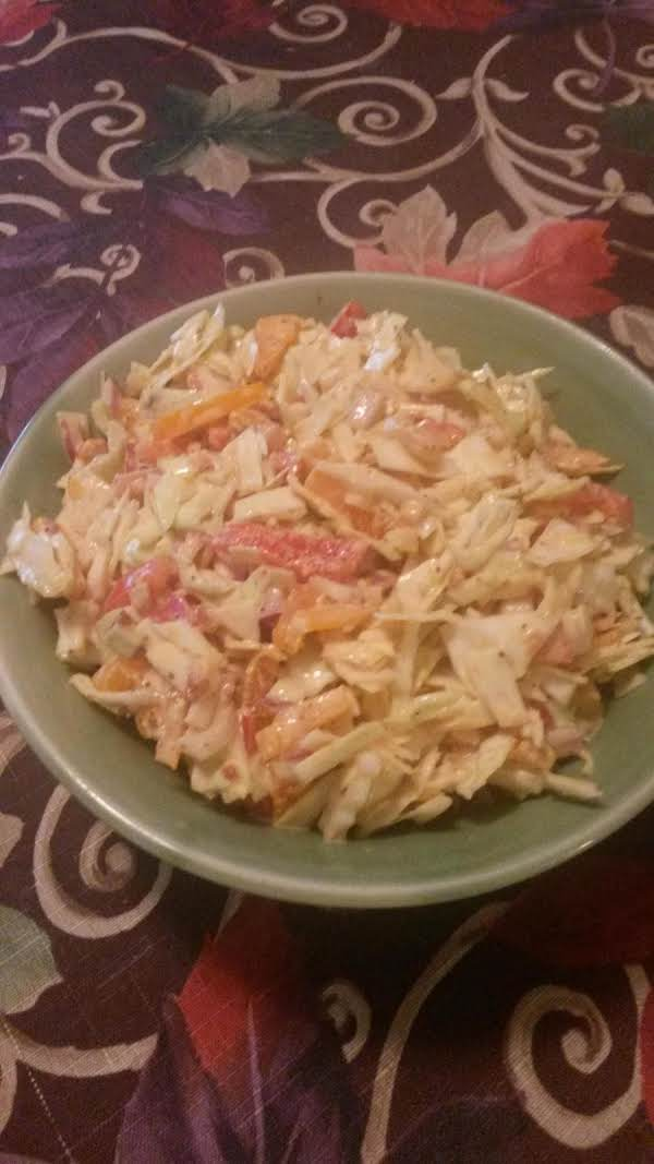 Hank's Cajun Coleslaw Recipe