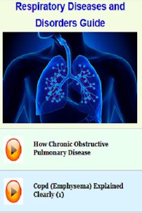 Respiratory Diseases & Disorders Guide - náhled