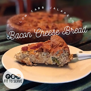 Low Carb Jalapeno Bacon Cheese Bread Recipe