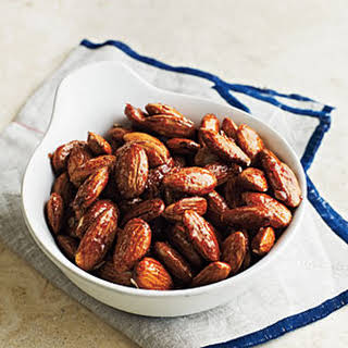 Honey-Glazed Almonds.
