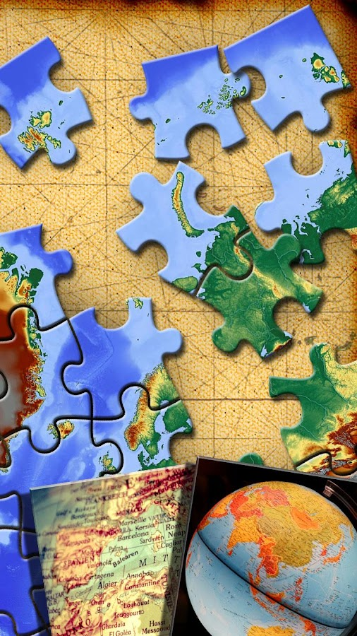 World map jigsaw puzzle android apps on google play world map jigsaw puzzle screenshot gumiabroncs Images