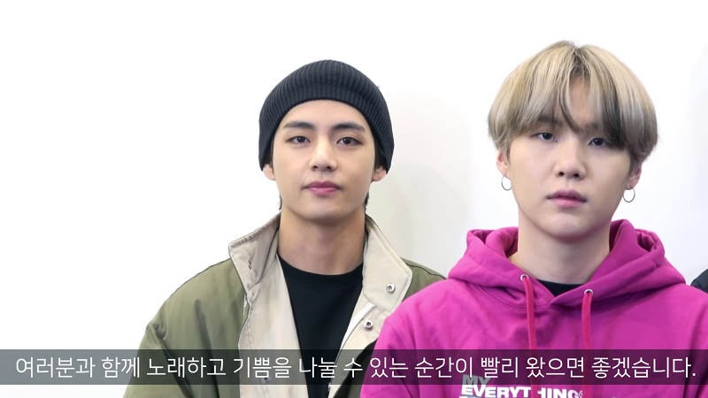 BTS V motivating Army about Covid-19