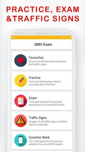 Download DMV Permit Practice, Drivers Test & Traffic Signs