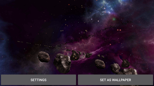 Planets Live Wallpaper App For Android Screenshot