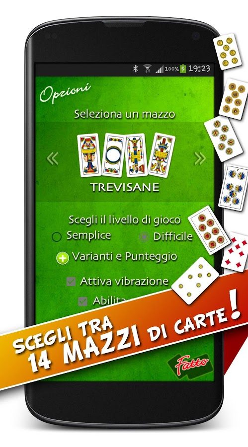 Scopa- screenshot