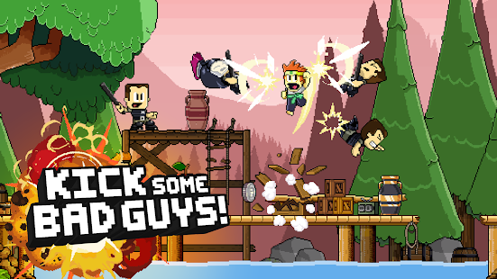 Dan the Man: Action Platformer- screenshot thumbnail