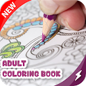 Mandala designs coloring pages icon