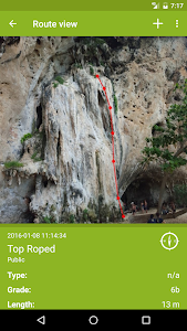 CLIMBOS - world climbing topo screenshot 0