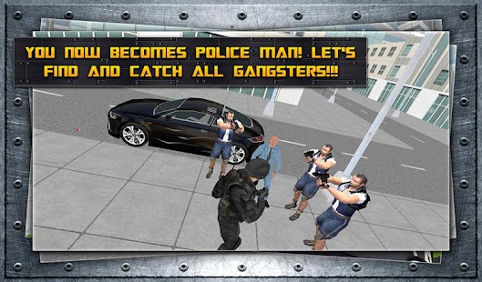 Police Fighting Gangsters- screenshot thumbnail