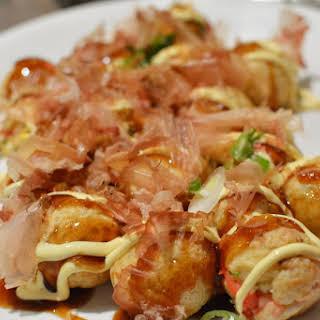 Takoyaki.