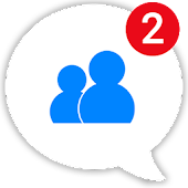 Messenger Pro Lite for Messages,Text & Video Chat Icon