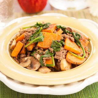 Sweet Potato Hash - Guest Post from Morgan Paris Fitness