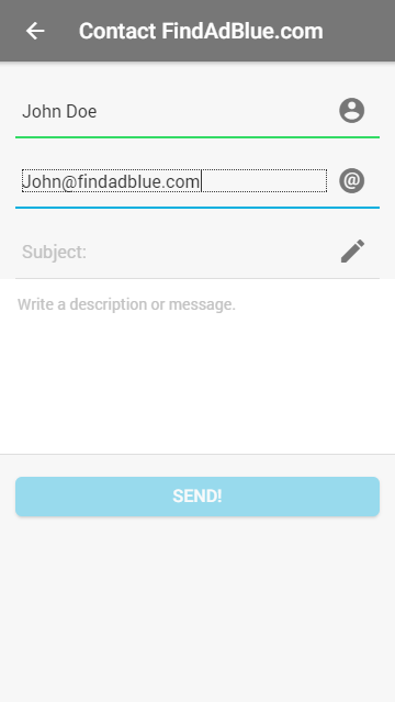 FindAdBlue- screenshot