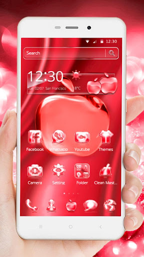 Crimson Crystal Apple for Phone X 1.1.4 screenshots 6