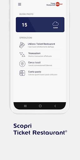 Ticket Restaurantu00ae 2.0.3 Screenshots 1