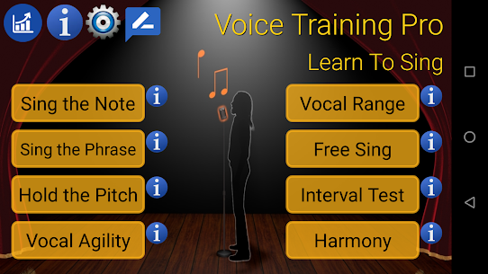 Voice Training Pro Added Solfege Option APK Mod for Android 3