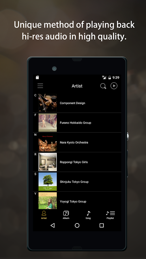 Hi-Res Music Player HYSOLID- screenshot
