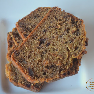 Date & Walnut Loaf Cake(No-Egg,No-Butter & No Refined Sugar)