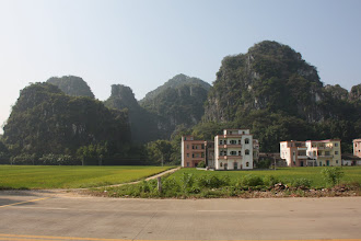 Photo: Day 208 - Limestone Pinnacles in SW Guangdong Province  (China)