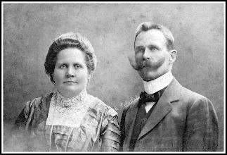 Photo: Para małżeńska, koniec wieku XIX