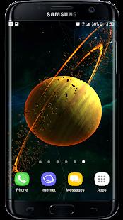 Gyro Planets & Particle Plexus 3D Live Wallpaper - náhled