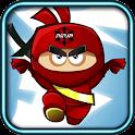 Frühling Ninja Jump icon