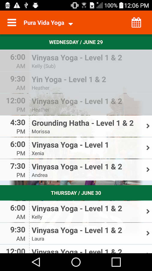 Pura Vida Yoga- screenshot