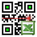 LoMag Barcode Scanner 2 Excel stock inventory data icon
