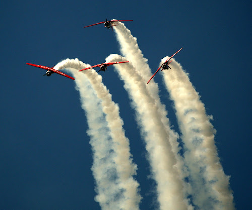 Over the Top by Larry Bidwell - Transportation Airplanes (  )