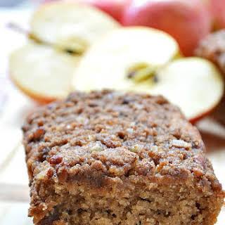 Gluten Free Baked Apple Cinnamon Bread.