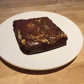Elley's Chocolate Orange Cheesecake Brownie