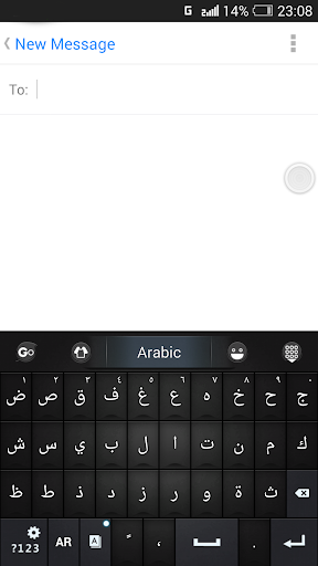Arabic Language - GO Keyboard screenshot 3