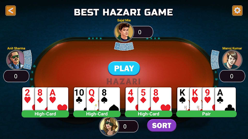 Hazari Gold (u09b9u09beu099cu09beu09b0u09c0)-1000 Points Game with 9 Cards 3.01 screenshots 10