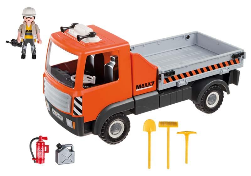 Contenido real de Playmobil® 6861 Camión Contenedor