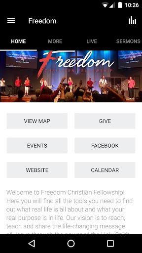 Freedom Christian Fellowship 3.4.2 screenshots 1