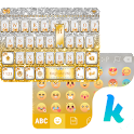 Golden Bow Kika Keyboard Theme icon