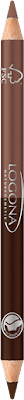 Dubbelsidig eyeliner penna - 01 Coffee